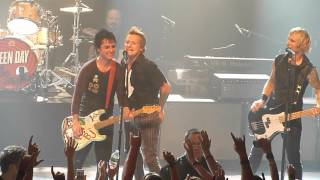 Green Day - Brat & J.A.R. (Jason Andrew Relva) @ Irving Plaza in NYC 9/15/12