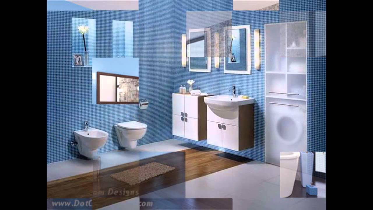 Blue and brown bathroom designs - Brown And Blue Bathroom Decorating Ideas