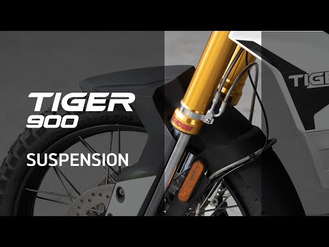 New Triumph Tiger 900 Features Benefits - Suspension