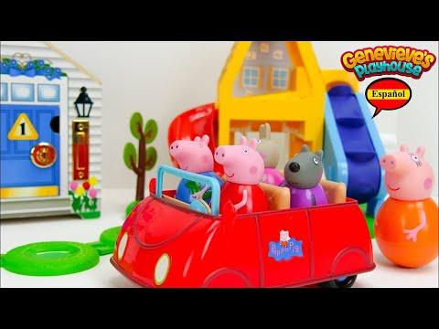 Aprende los Colores con Peppa Pig Weebles y Casa de Mu帽ecas