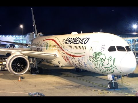 [Flight Report] AEROMEXICO | Paris ✈ Mexico City | Boeing 787-9 | Business