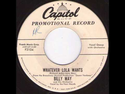Billy May - Whatever Lola Wants.wmv