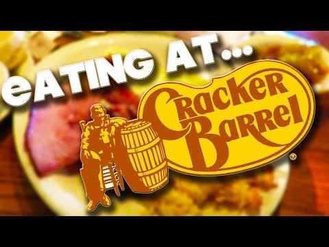 EATING AT CRACKER BARREL - ORLANDO - FLORIDA
