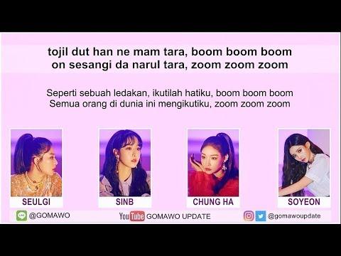 Easy Lyric Seulgi X SinB X Chung Ha X Soyeon - WOW THING By GOMAWO [Indo Sub]