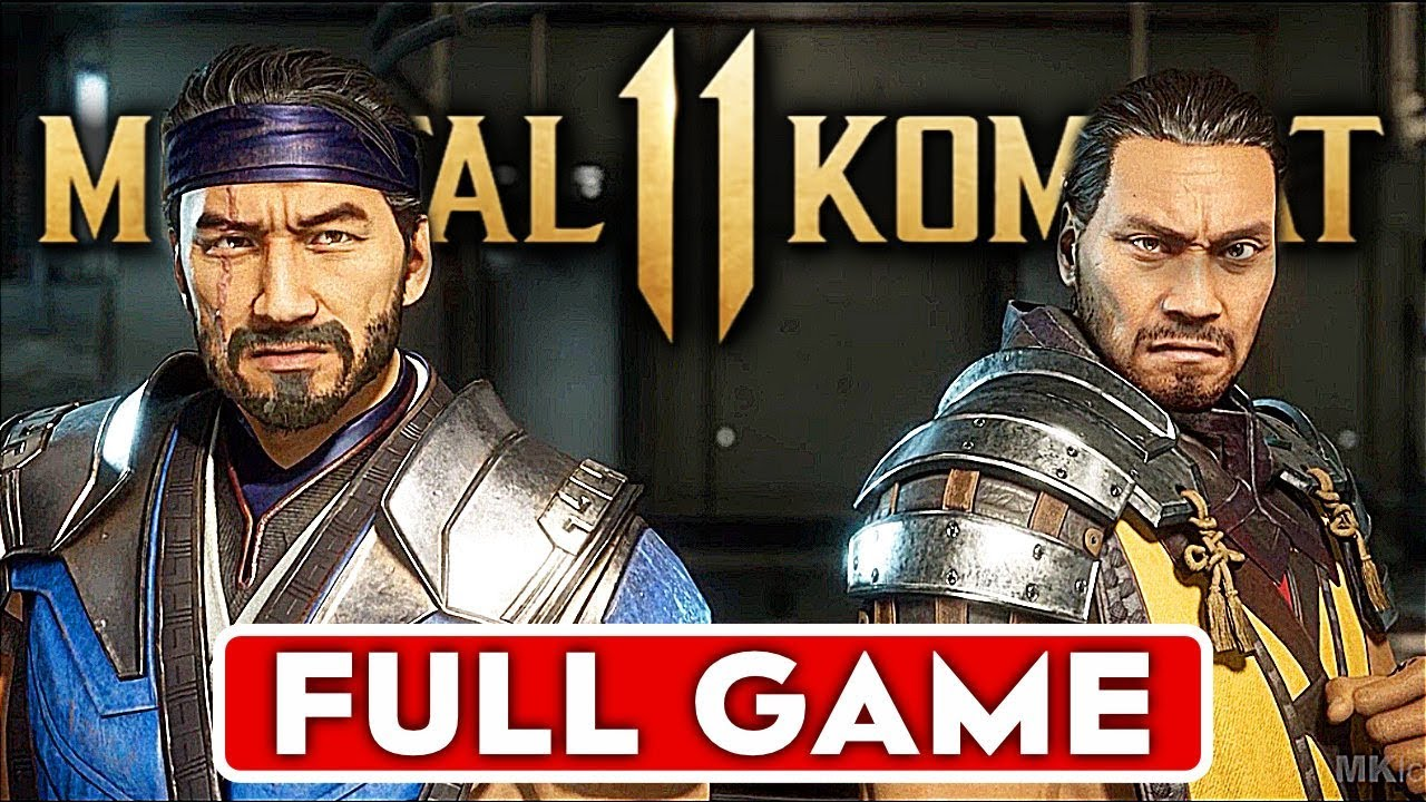 MORTAL KOMBAT 11 Story Gameplay Walkthrough Part 1 FULL GAME [1080p HD 60FPS PS4] - No Commentary