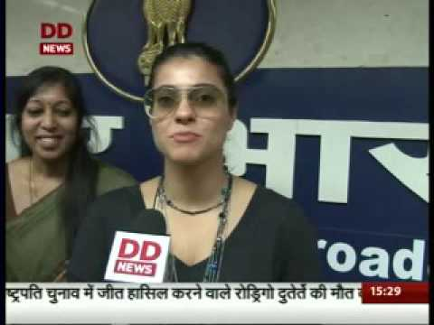 Bollywood actor Kajol appointed as a part-time member of  the Prasar Bharti Board