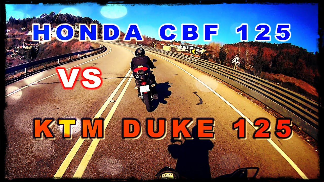 Honda Cbf Vs Ktm Duke