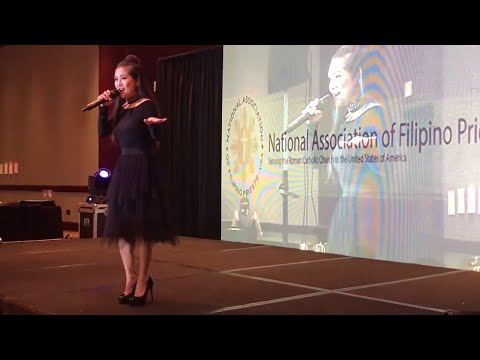Sheryn Regis - Specail guest at The National Association of Filipino Priests in America