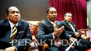 MB Perak Tampil Buat Teguran Berhubung Laporan Berita Sultan Tegur Kerajaan, Pemaju