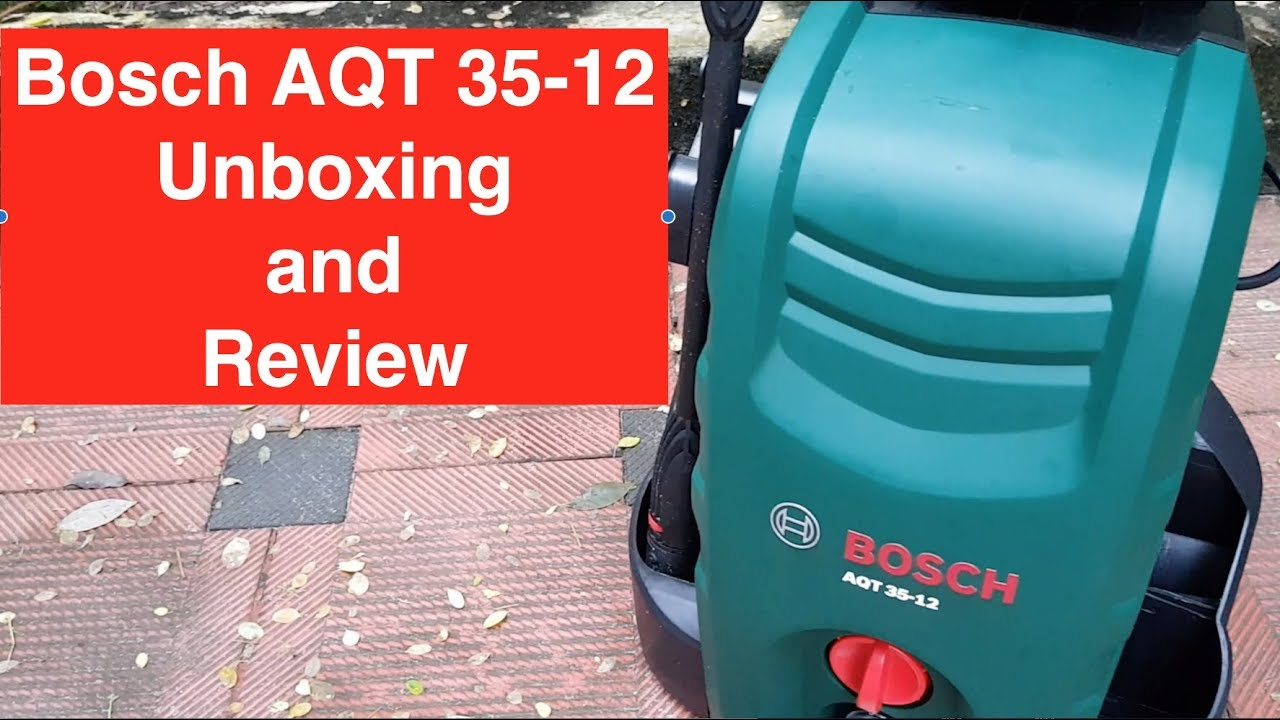 Bosch Aqt 35 12 Unboxing And Review Best Car Washer Make Car