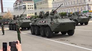 Генеральная репетиция парада и Военная техника Ставрополь