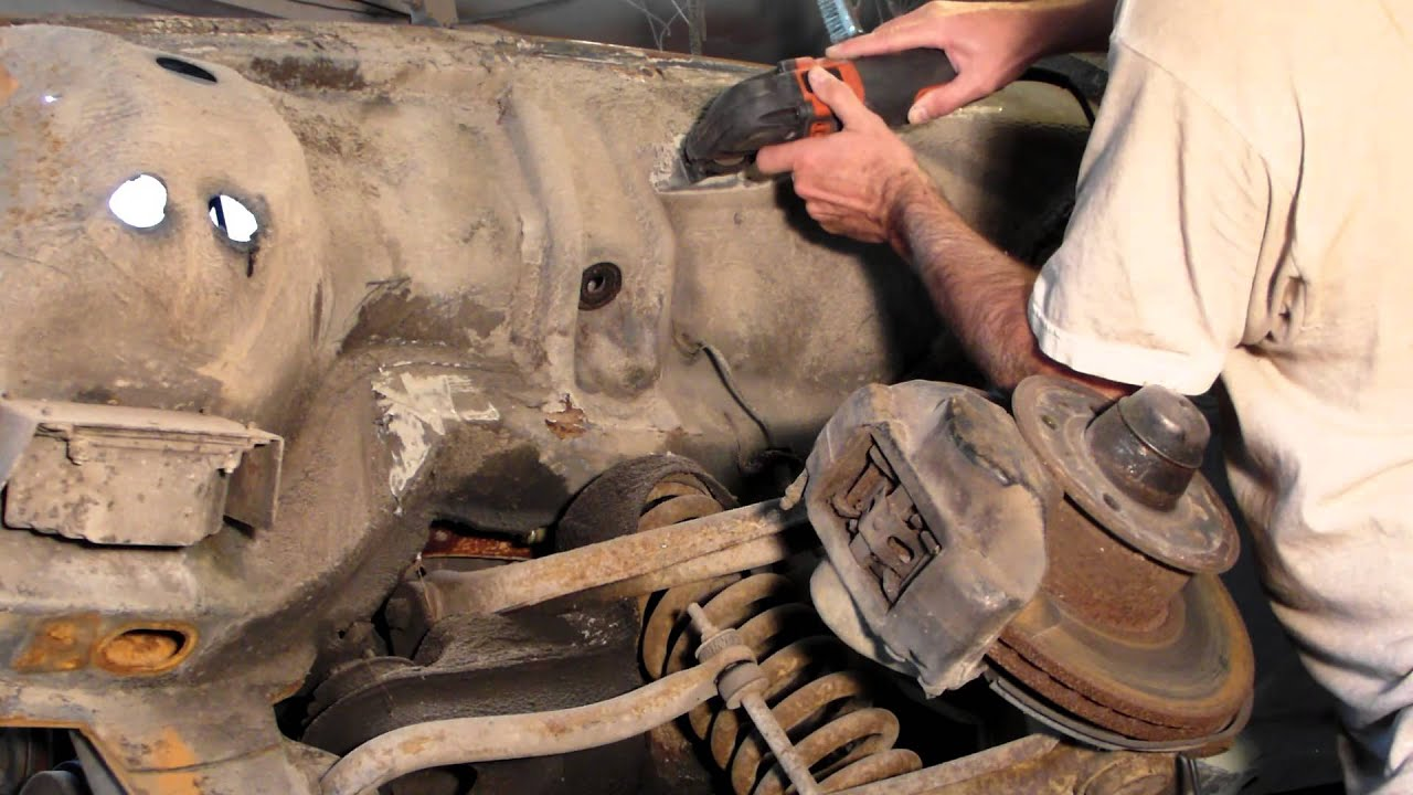 how to remove rubberized undercoating on an older mercedes