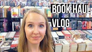 BOOK HAUL Vlog!