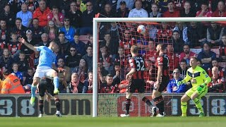 Video Gol Pertandingan AFC Bournemouth vs Manchester City