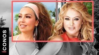 Thalia y Paulina Rubio llevaron una enemistad que no muchos conocen