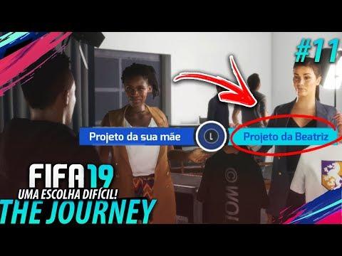 FIFA 19 THE JOURNEY #11 - Uma ESCOLHA muito DIFÍCIL!! (Gameplay em Português PT-BR)