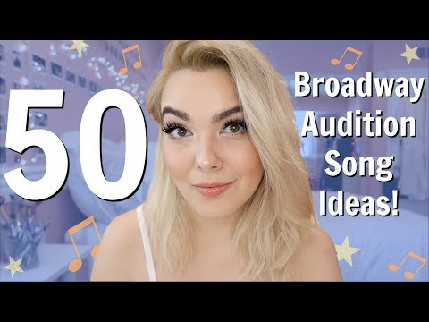 Musical Theatre Audition Songs For Mezzos, Belters, & Mixers!   Broadway Audition Songs For Girls