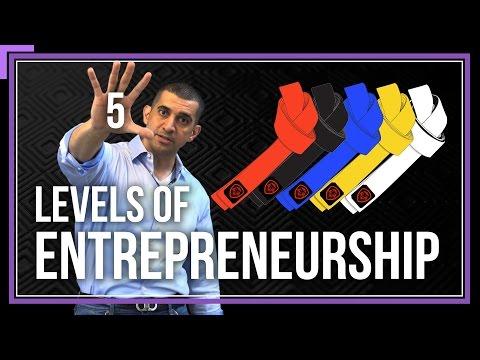 The 5 Levels of Entrepreneurship Mp3