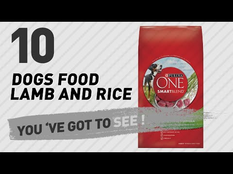 Dogs Food Lamb And Rice // Top 10 Most Popular