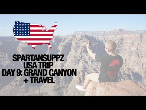 Spartansuppz USA Tour Day 8: Grand Canyon, Vegas Travel West to South