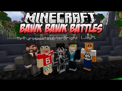 """Minecraft: Bawk Bawk Battles! #01 - Trochę inne """"PARTY""""   Vertez, Purpose, Hunter, Swiatek, LJay"""