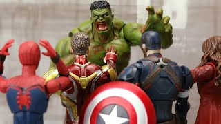 The Avengers: Zombie Apocalypse Hulk Infection | Figure Stopmotion