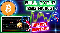 BITCOIN STOCK TO FLOW HINTS TO BULL CYCLE BULLISH AS BTC PRICE MOMENTS AWAY FROM MOVE!