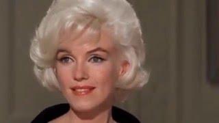 MARILYN MONROE ONLY -  Sweet Valentine -  Her Last movie scenes in COLOR