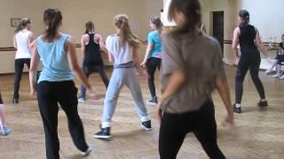 Jazz hands mēģinājums @ Vaidava. Glamorous Dance
