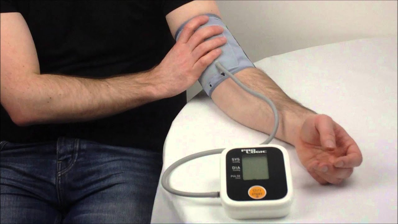 how to measure your blood pressure manually