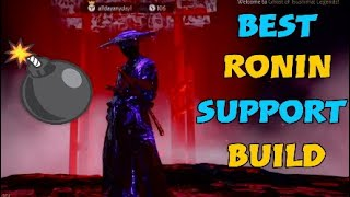 BEST RONIN SUPPORT BUILD | Ghost of Tsushima Legends #GhostofTsushima #Nightmare #Ronin #Support