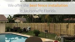 fence installation Jacksonville Florida - Jacksonville Fence builders