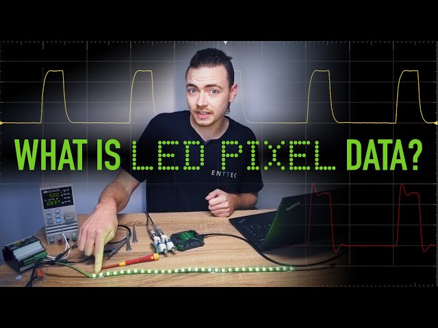 What is LED pixel data and why do your pixel lights flicker ?