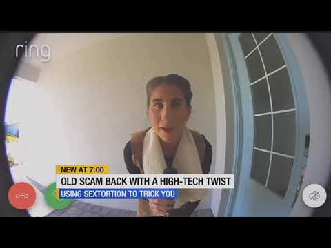 New scam uses victims' home security cameras against them