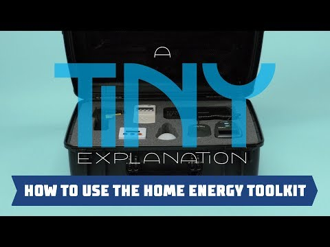 How To Use the Home Energy Toolkit - A Tiny Explanation