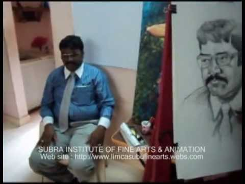 ING Life insurance Drawing competition for Subra Institute of Fine Arts & Animation
