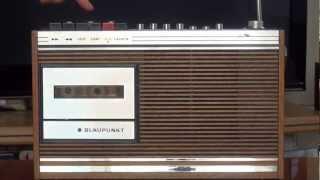 Blaupunkt Marimba CR - videotest radiomagnetofonu