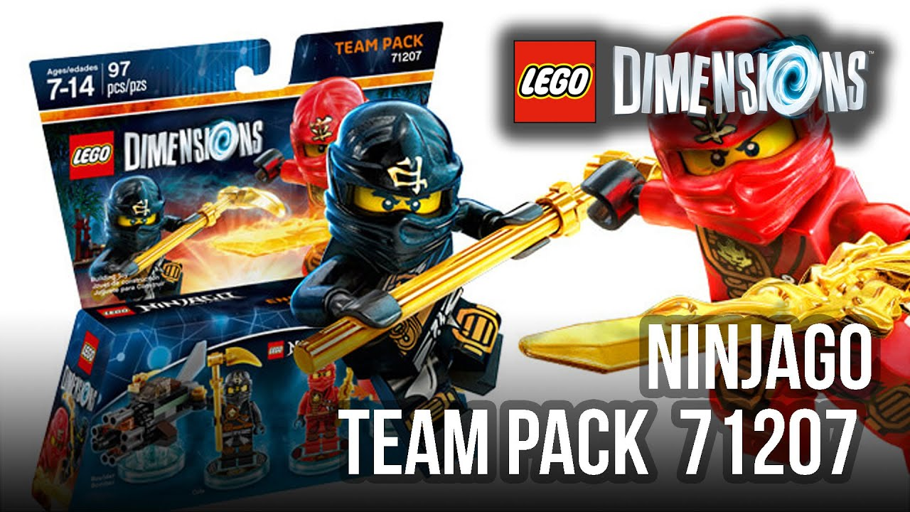 Lego dimensions ninjago team pack unboxing p svenska - Lego ninjago team ...