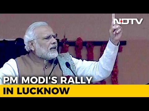 PM Modi's Speech at BJP Rally in Lucknow