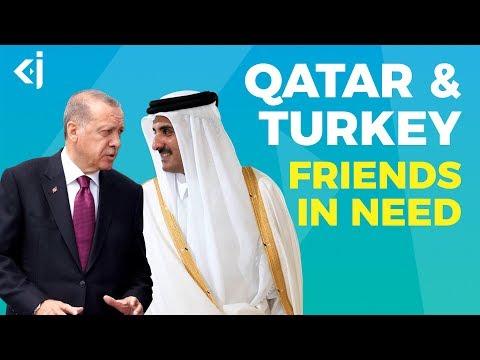 TURKEY and QATAR, Brothers or FRIENDS in NEED? - KJ Vids