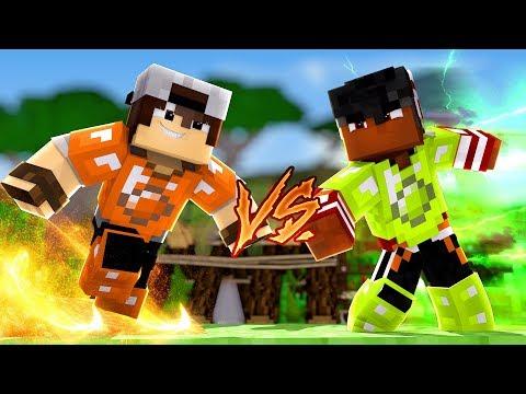 Minecraft: CORRIDA PVP - RESISTÊNCIA AO FOGO vs RAPIDEZ!