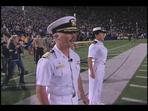 Cal Football: Armed Forces Mass Swearing In (9/5/09)