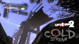 L4D2 - Speedrun #22 - Cold Stream in 3:58 Solo - TAS [Pistols/Deagle Only - World Record]