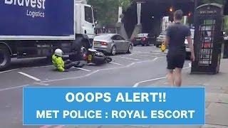 OOOPS ALERT!: Met Police Royal Escort Duty in London