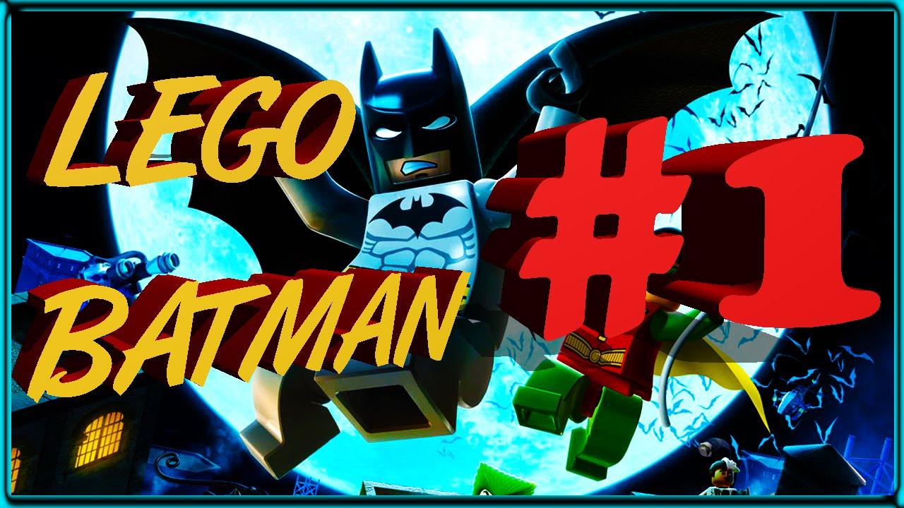 """Walkthrough #1 Lego Batman: The Videogame - PS2 - """"You Can ..."""
