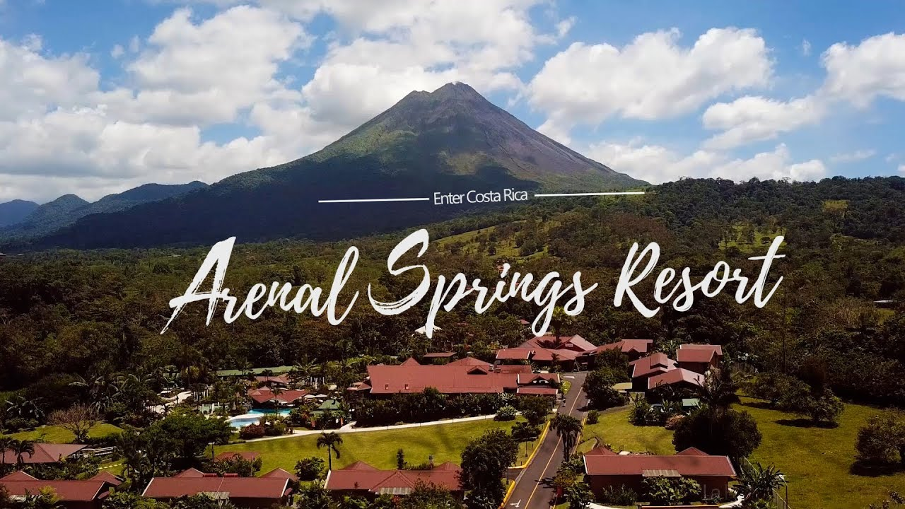 Arenal Springs Resort Spa At Volcano Costa Rica