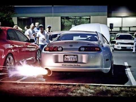 Fast And Furious Cars Wallpaper Best Turbo Compilation Anti Lag 2step Burnouts Flames