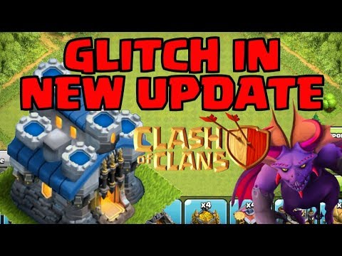 GLITCH FOUND in CLASH OF CLANS TOWN HALL 12 UPDATE! NEW TH12 UPDATE BUG in CoC TROOPS BASE!