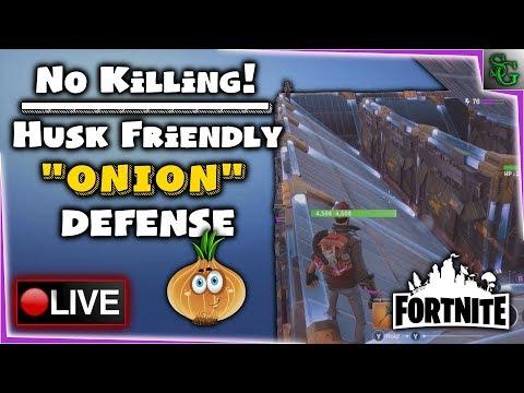 Fortnite Gameplay - No Shots Fired, Onion Design SUCCESS! - Level 76 Retrieve the Data