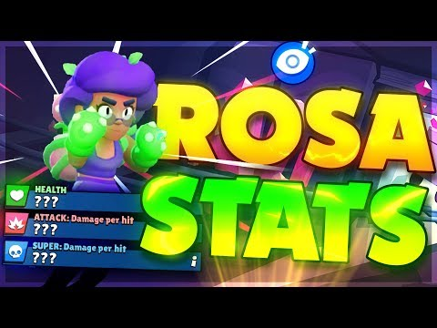 ROSA IS VERY OP! Stats, Super, Star Power and Mechanics Revealed!